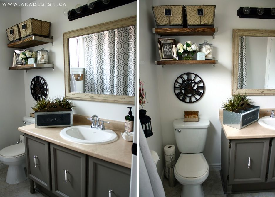 Perfect Over The Toilet Storage And Design Options For Small Bathrooms