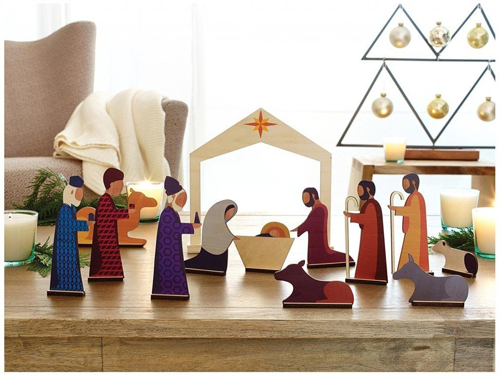 Modern Christmas Nativity For Kids Nativity Set Christmas Nativity Set Modern Nativity Set