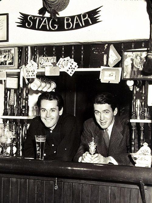 Henry Fonda & Jimmy Stewart.