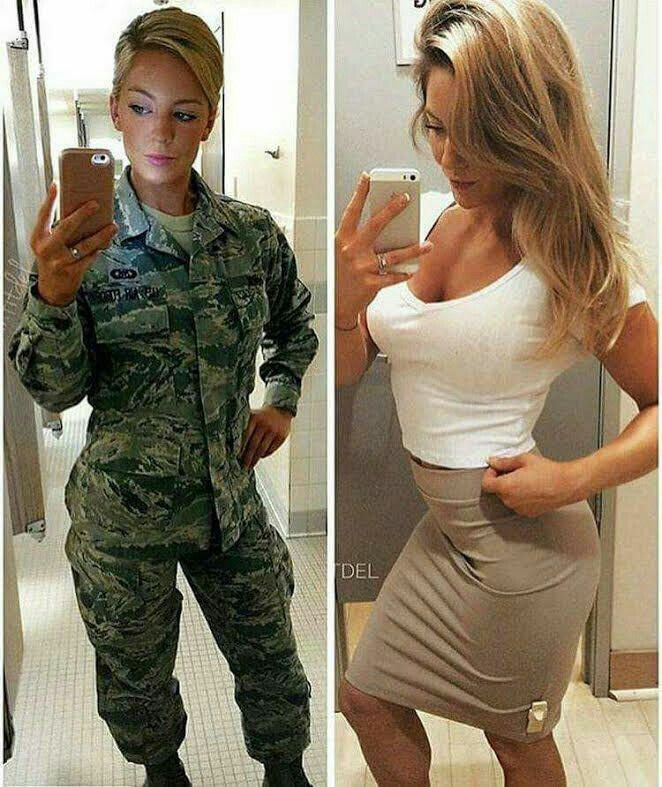 picture have women in the military naked