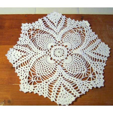 crochet patty alcyone doily