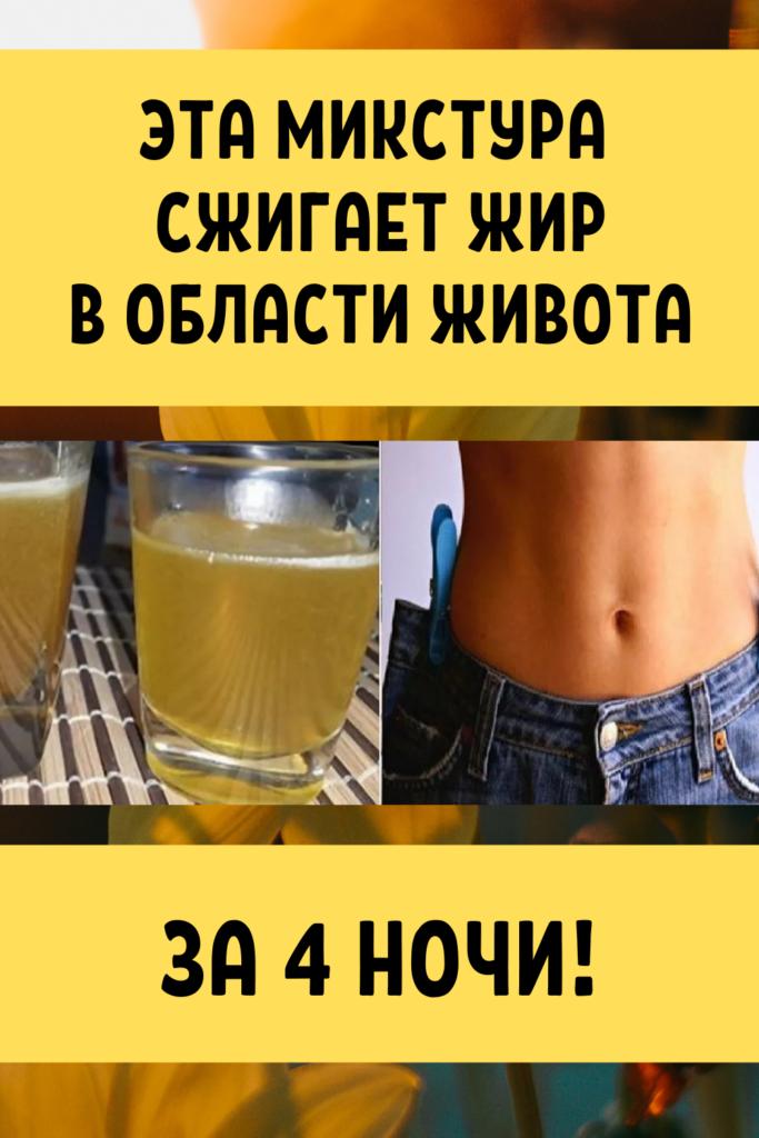 Лекарства чтобы сжечь жир на животе