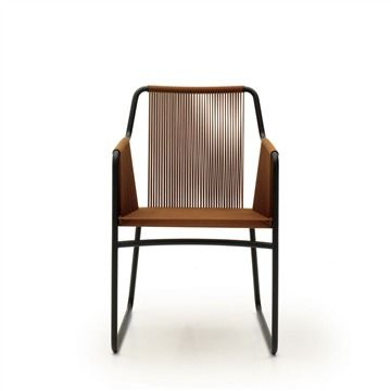 Great RODA Harp Armchair   Style # HRP359 01 01, Modern Outdoor Dining Chairs