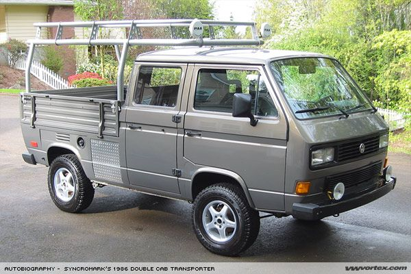a b 1986 double cab transporter doka das doka vw t3. Black Bedroom Furniture Sets. Home Design Ideas
