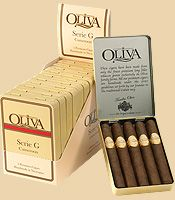 Oliva Cigar - Serie G is a medium body blend made with authentic African-Cameroon wrapper.