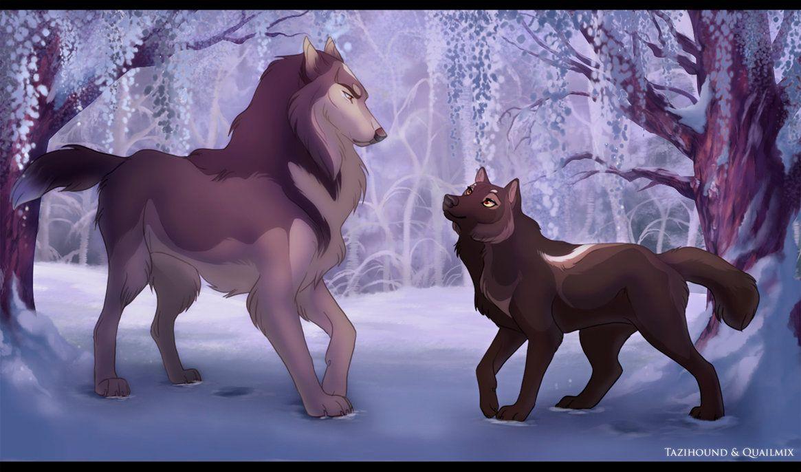 Twenty Questions Wolf Spirit Animal Canine Art Dog Art