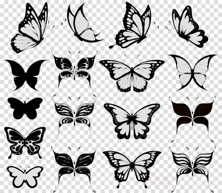 Tattoo Butterfly Design Transparent Png Image Clipart Free Download Free Clip Art Body Art Tattoos Clip Art
