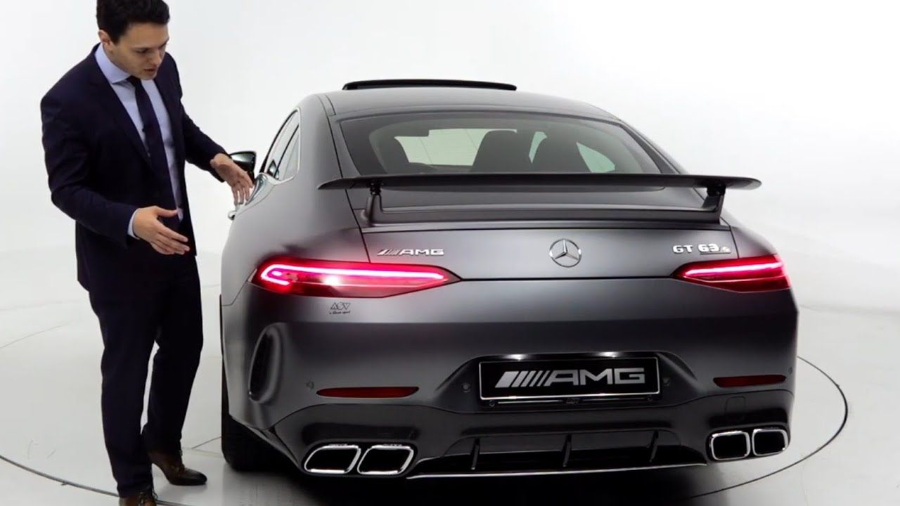 2019 Mercedes Amg Gt 4 Door Coupe Gt63s Brutal Drive Review