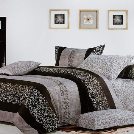 This five-piece ($189.99 w/ free shipping) Bed in a Bag set consist of a pillow sham, a fitted sheet, a duvet cover, a comforter, and a pillow. All purchases comes with our 7DAY Guarantee (Full Refund & Free returns upto 7 days after receipt) #ShopEccentric