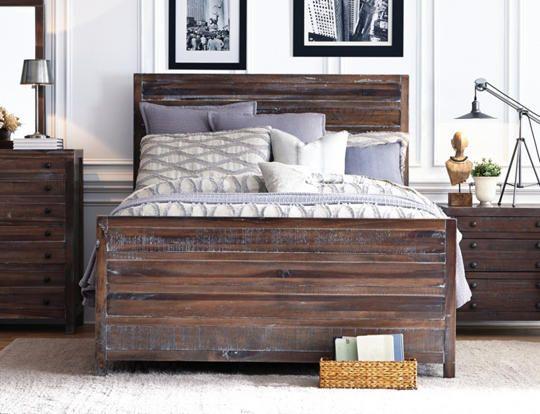townsend queen bed art van furniture b s more