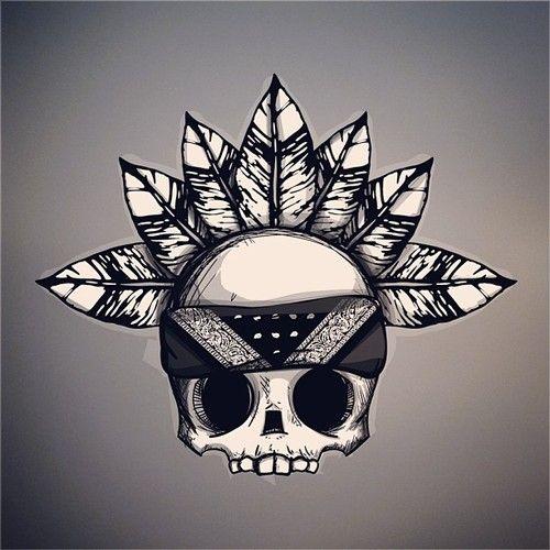 Calavera tumblr - Imagui | dibujos | Pinterest | Tatuajes ...