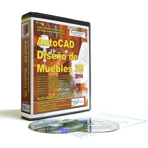 curso autocad 2014 para diseño de muebles en 3d. | autocad ... - Disenar Muebles 3d