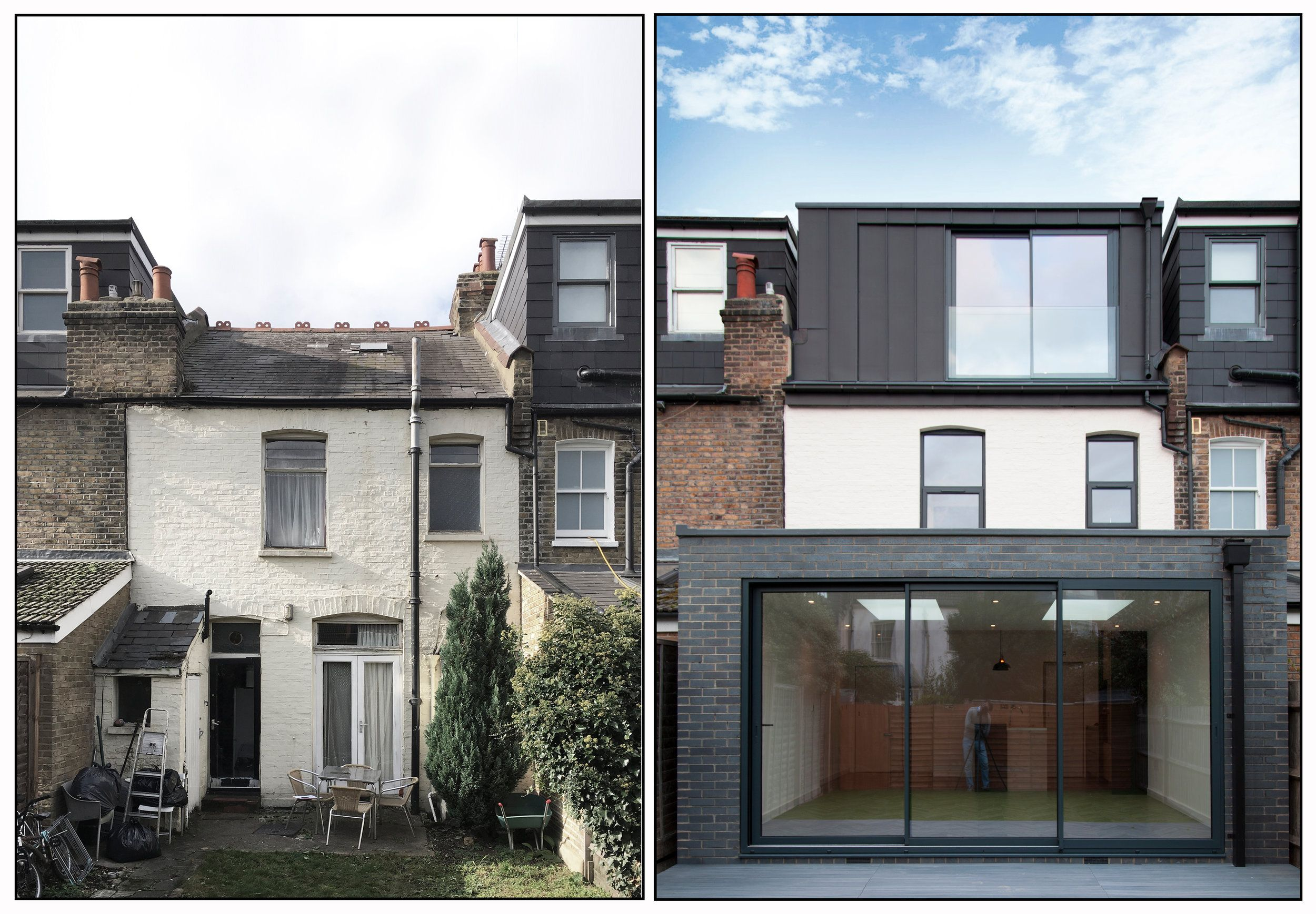 Ground And Loft Floor Extension Under Permitted Development Rights In London A L E Z Architects House Extension Design House Extensions Loft Conversion