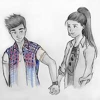 resultado de imagem para casal apaixonado desenho tumblr Бижутерия