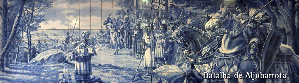 São Nuno a rezar antes da Batalha de Aljubarrota
