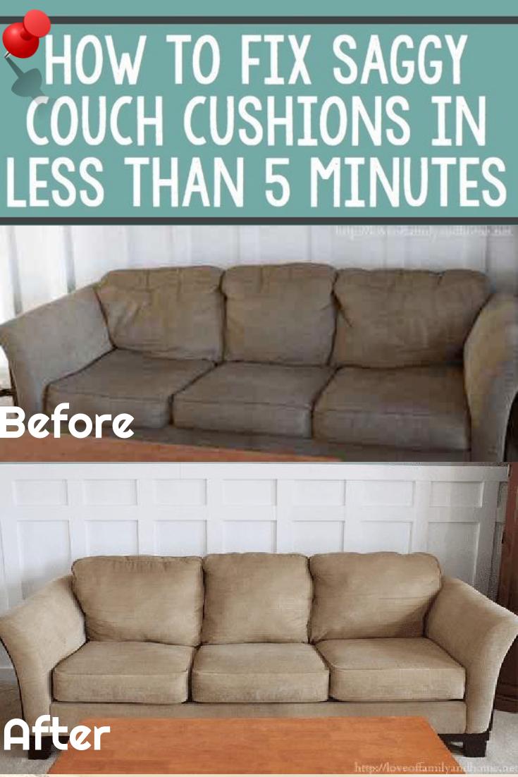 How To Make Your Lumpy Couch Look Like New Schoonmaken Tips