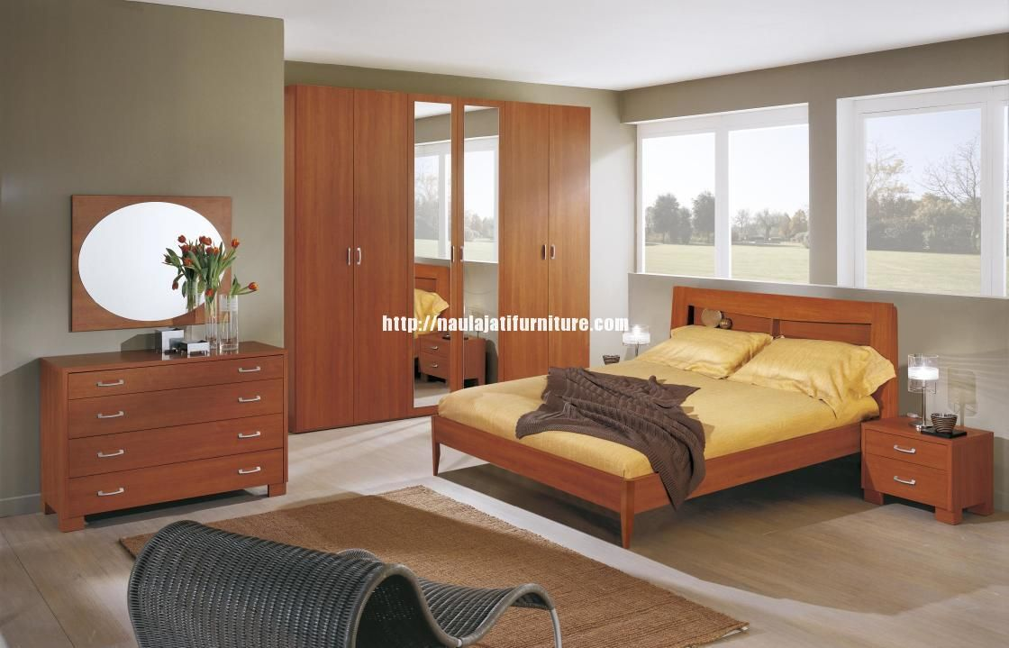 set kamar minimalis modern jati terbaru