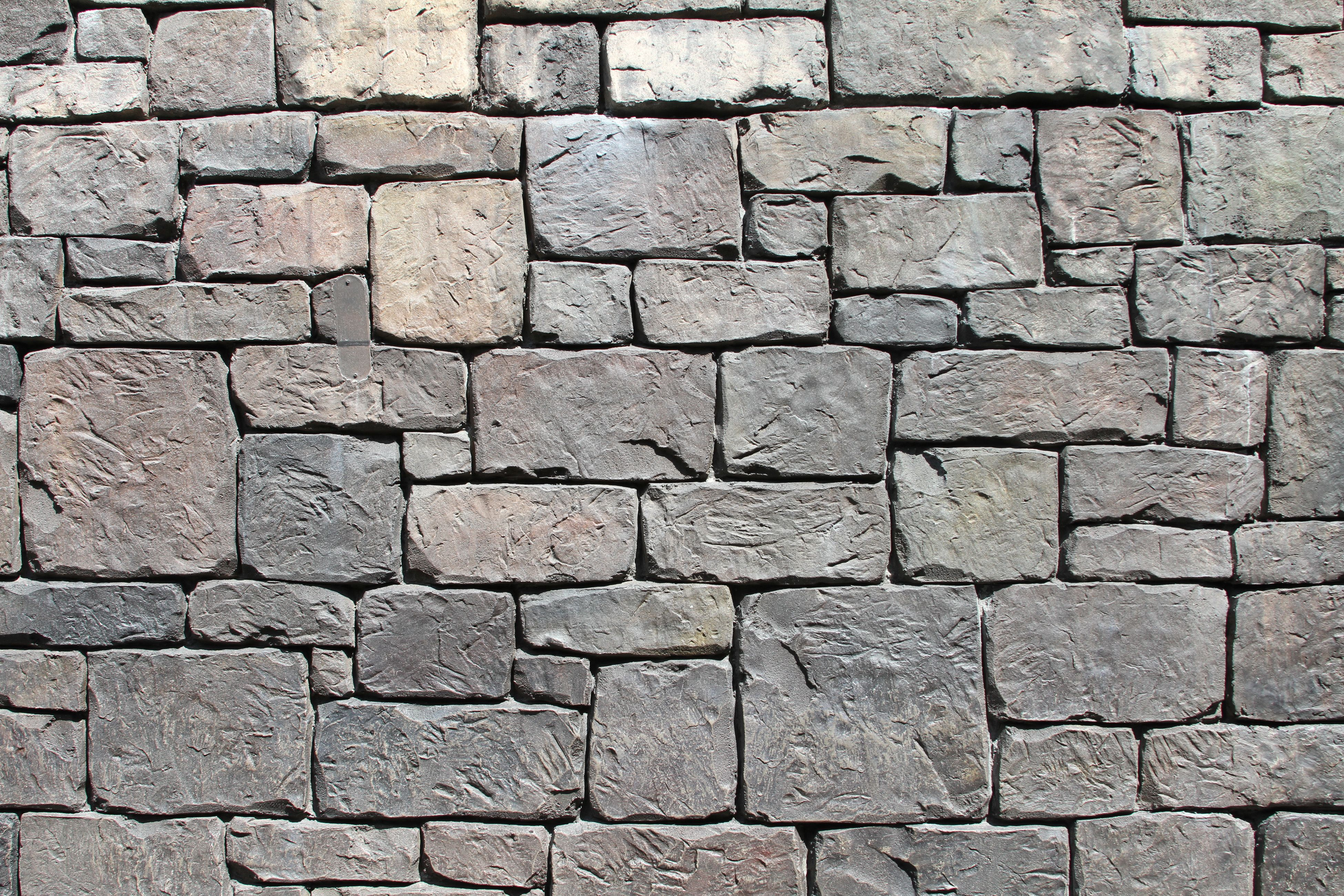jagged gray stone wall texture in two variants for flexibility in