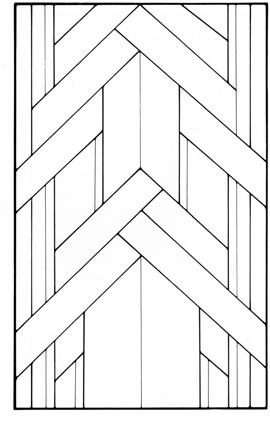 art deco stained glass pattern book in 2019 glass art. Black Bedroom Furniture Sets. Home Design Ideas