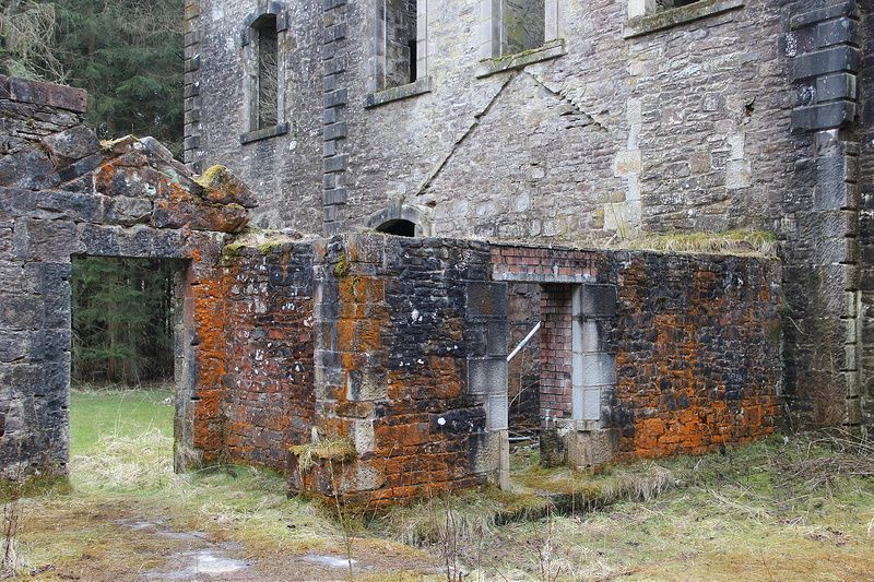 The Ruins Of Carmichael House Its Abandoned Pet Cemetery Urban Ghosts Pet Cemetery Abandoned Abandoned Mansions