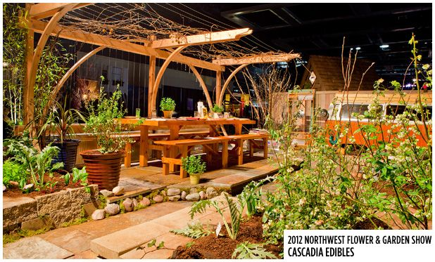 Cascadia, Northwest Flower & Garden Show | Outdoor landscaping on Cascadia Outdoor Living Spaces id=93901