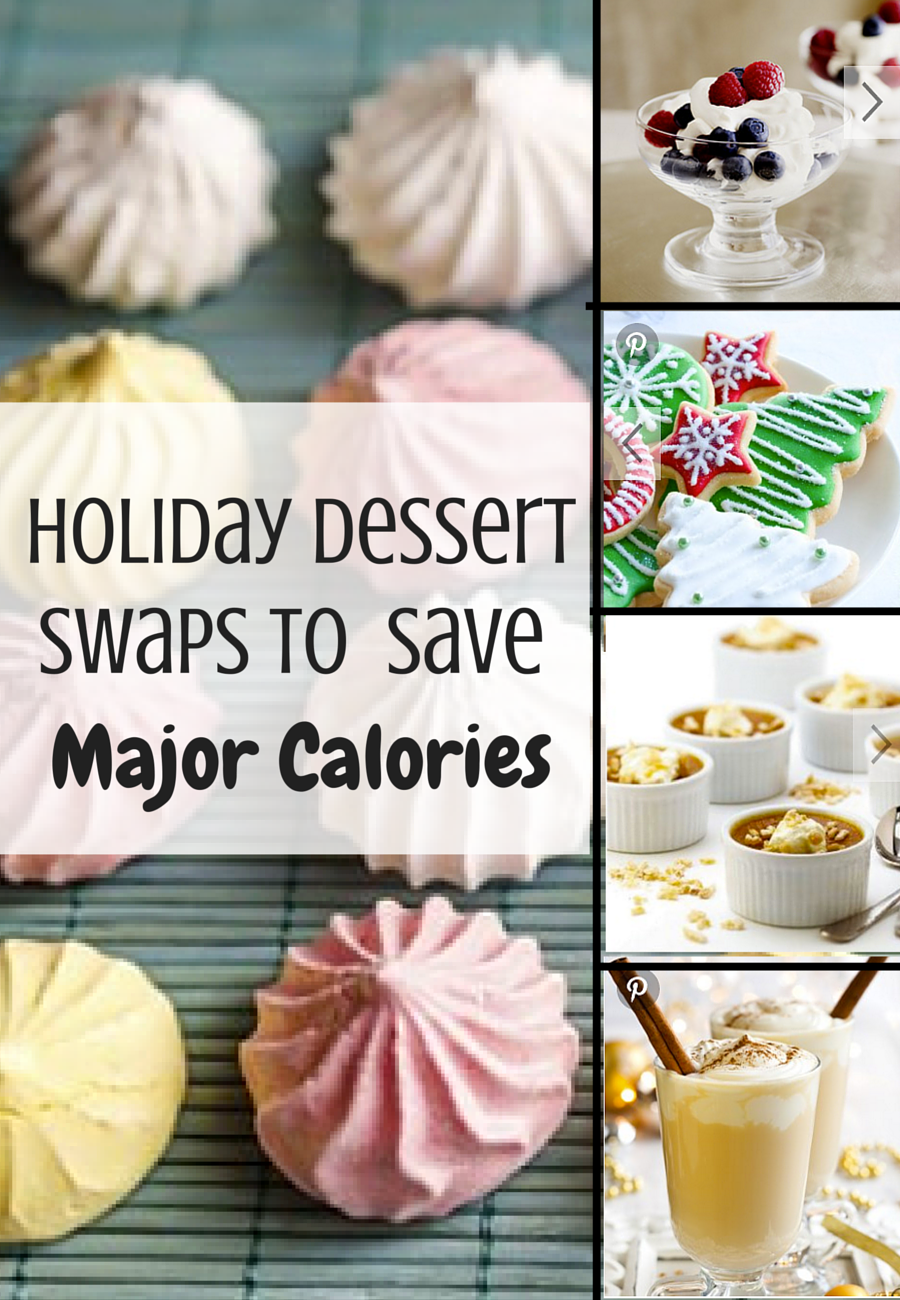 9 Holiday Dessert Swaps That Will Save You Major Calories