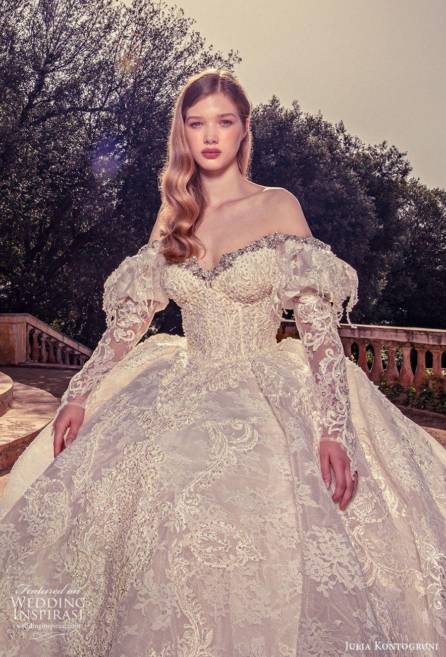 Julia Kontogruni 2020 Wedding Dresses Wedding Inspirasi Wedding Dresses Vintage Princess Wedding Dresses Under 500 Wedding Dresses Corset [ 1326 x 900 Pixel ]