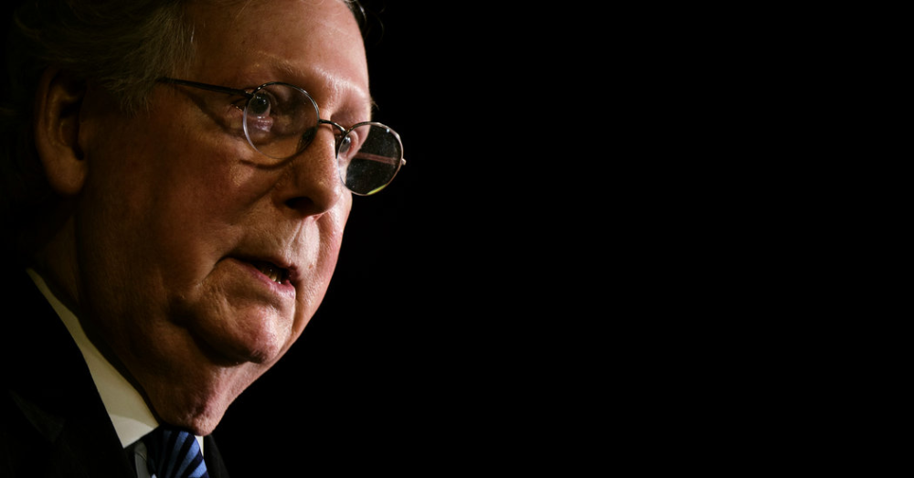 Opinion McConnell to Every State Drop Dead in 2020