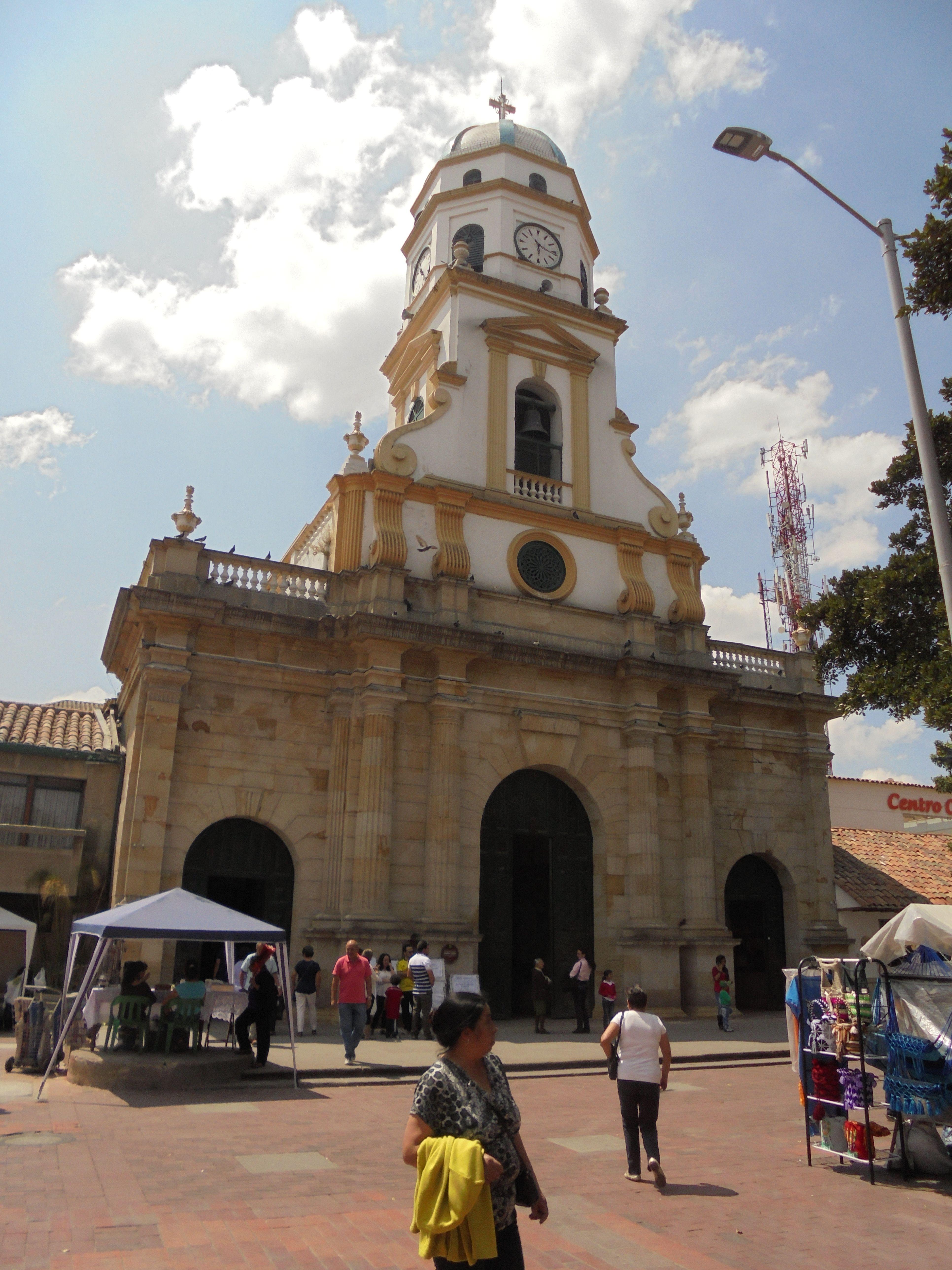 Iglesia de Chía, Cundinamarca, Colombia. Enero del 2016.