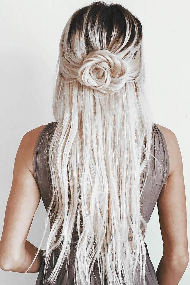 Fantastic Hairstyles For Long Hair To Impress Anyone Straight Wedding Hair Long Hair Styles Hair Styles