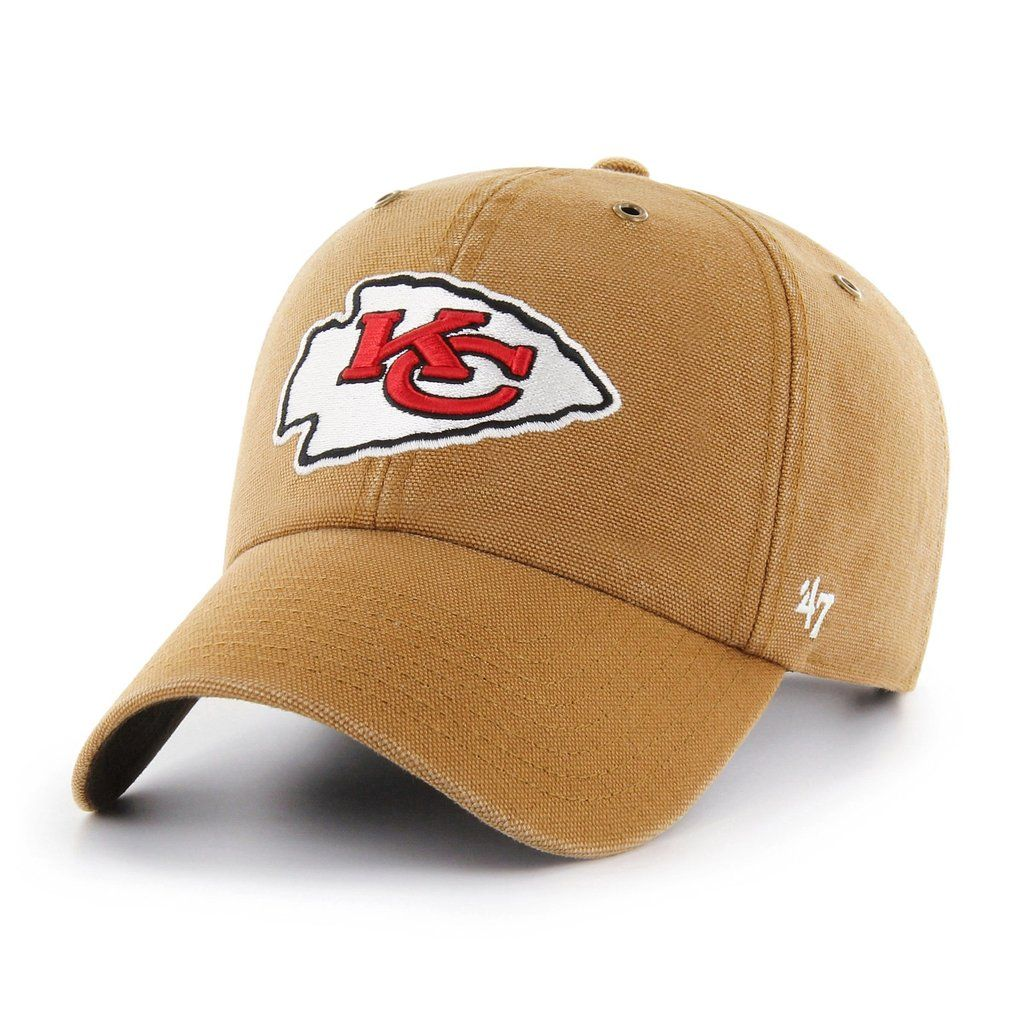 Kansas City Chiefs Adjustable Youth Khaki Baseball Hat NWT