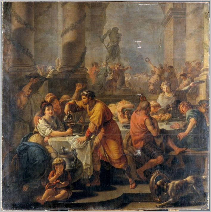 Image result for Saturnalia painting