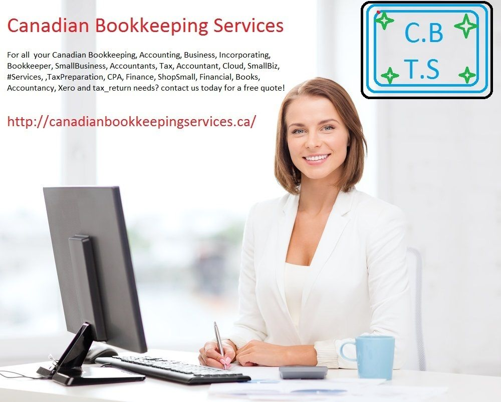 For all your Canadian Bookkeeping accounting, tax