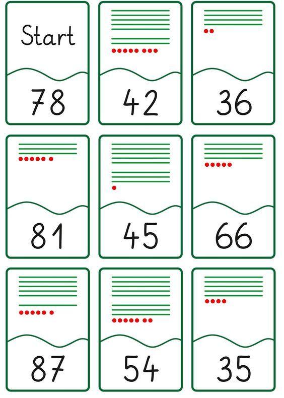 lernst bchen lesespiel zahldarstellung bis 100 matikka matematic. Black Bedroom Furniture Sets. Home Design Ideas