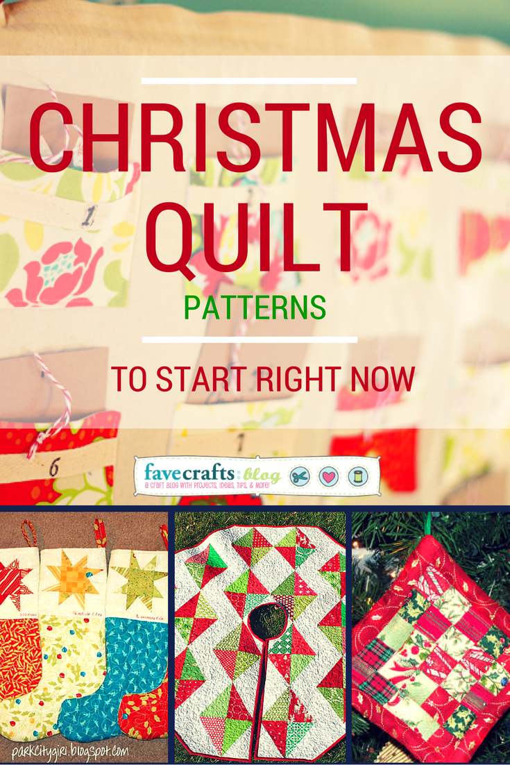 Quilting Forecast: Christmas Quilt Patterns to Start Today