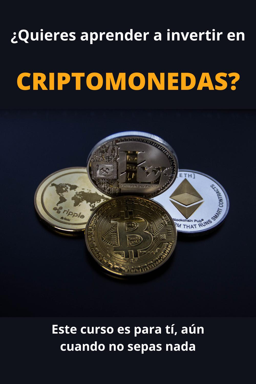 aprender la inversión en criptomonedas