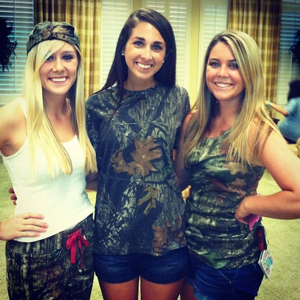 duck calls and overalls date party alpha sig love