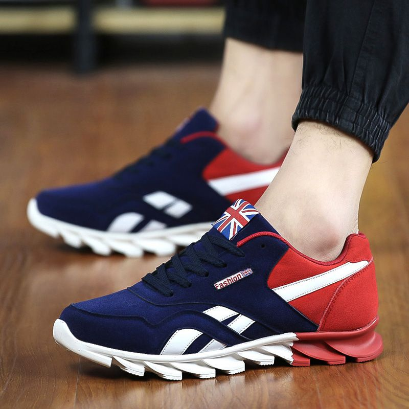 ... from China shoes school Suppliers: Men Casual Shoes Spring Autumn Mens  Trainers Breathable Flats Walking Shoes Zapatillas Hombre Fashion Shoes Male