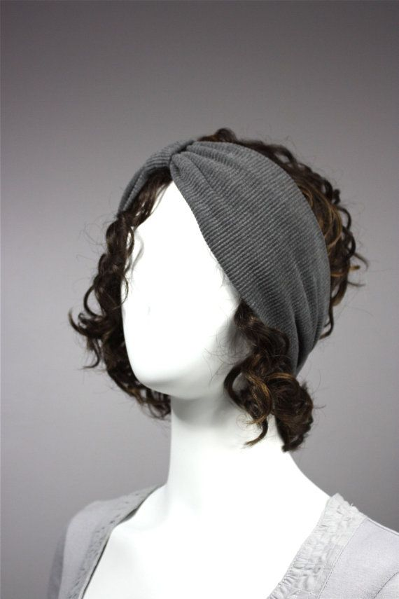 Grey+Turban%2C+Headband%2C+Stretchy+Turban%2C+grey+headband
