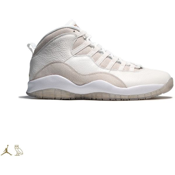 BREAKING The 'OVO' Air Jordan 10 Will Be Hard To Buy ❤ liked on Polyvore featuring jordans