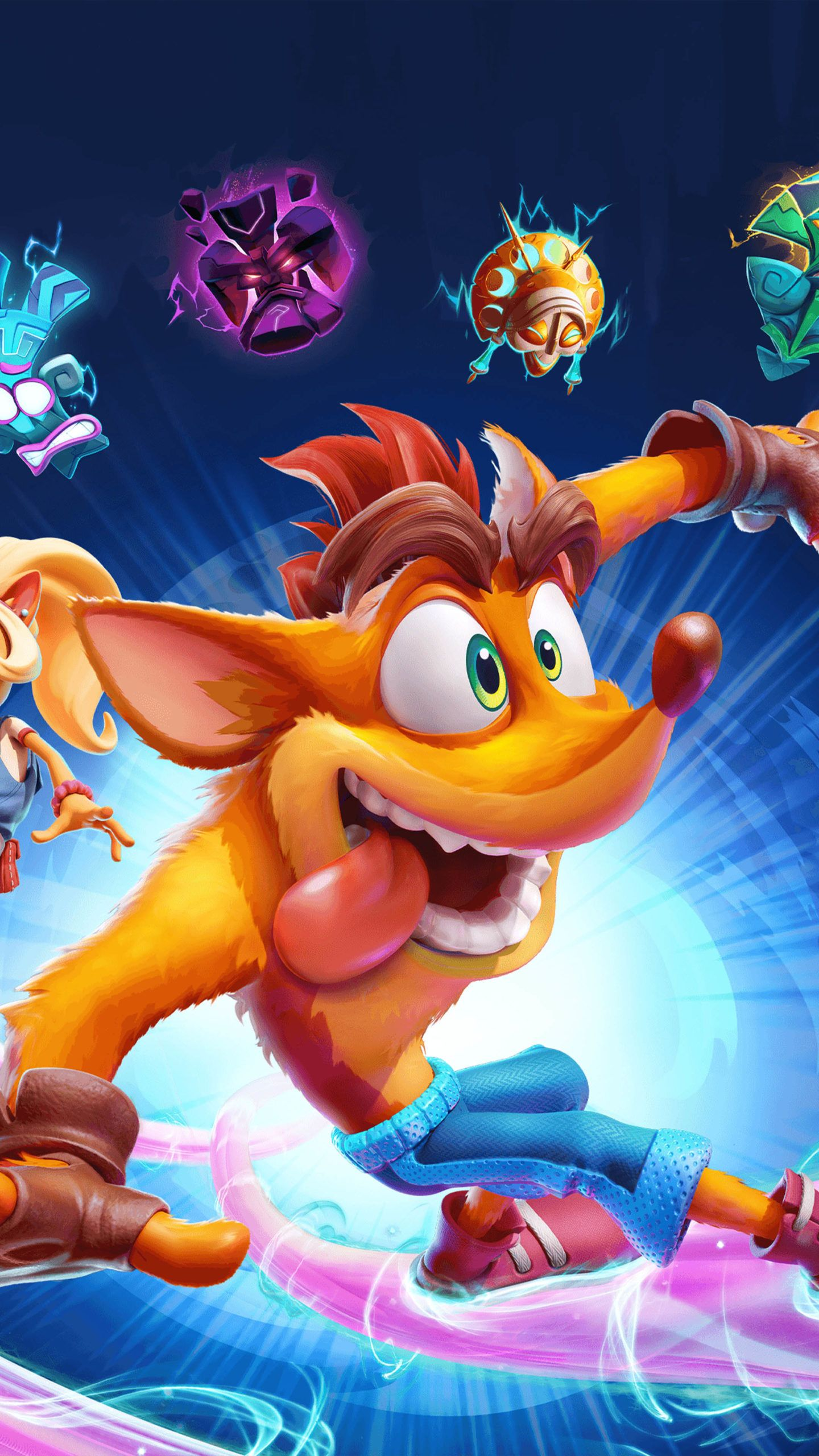 Crash Bandicoot 4 It's About Time Game Poster 4K Ultra HD