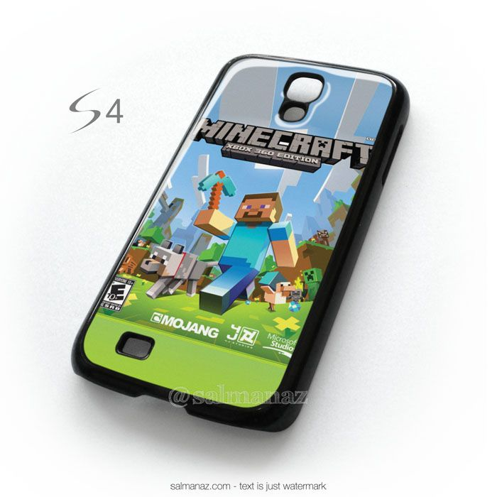 wholesale dealer 26601 3c34e Minecraft Games Xbox 360 Edition Samsung Galaxy S4 Cover Case ...