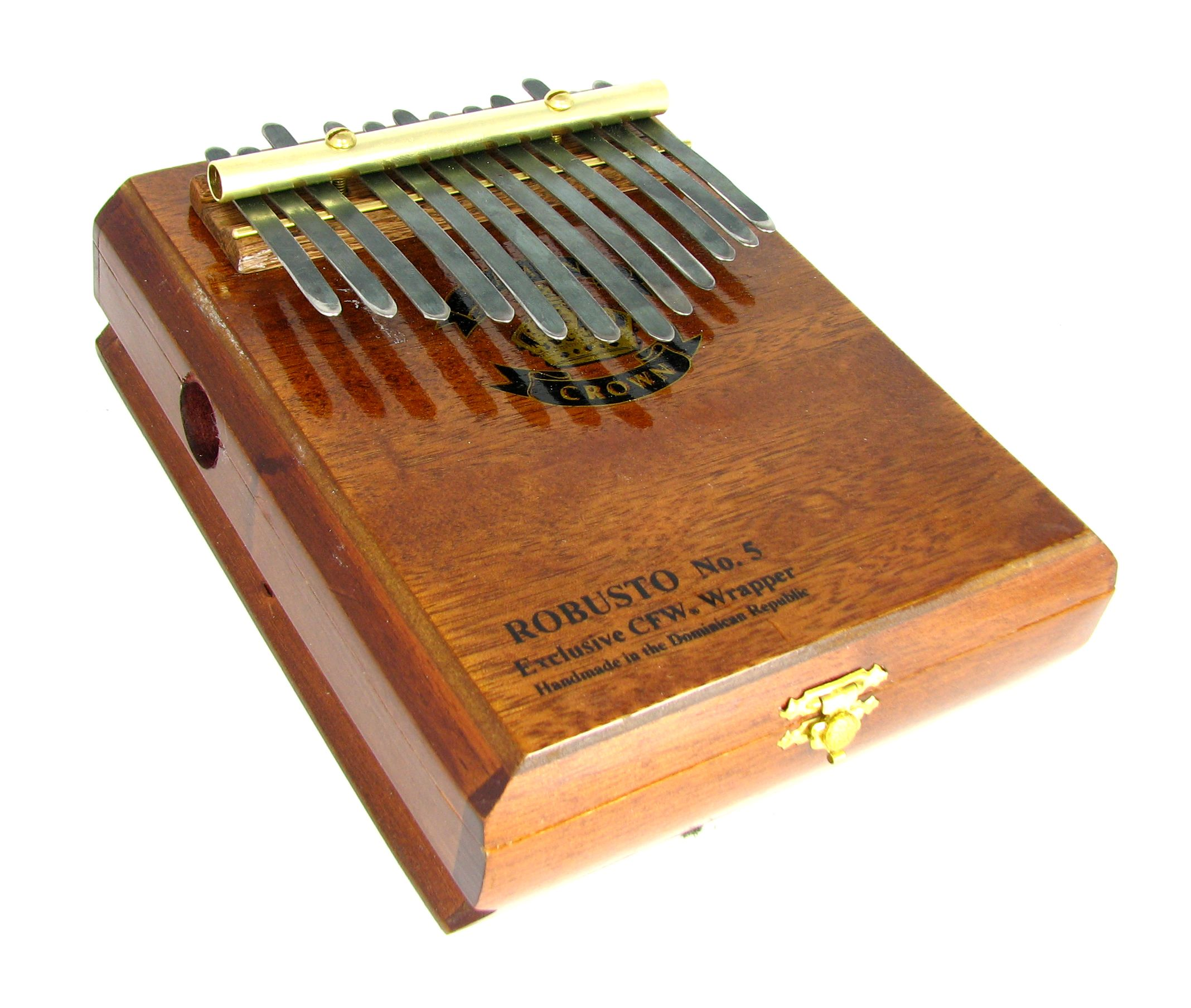 Home Trend Mark 17 Key Kalimba Bamboo Single Board Thumb Piano Mbira Natural Mini Keyboard Instrument With Complete Accessories Professional Design