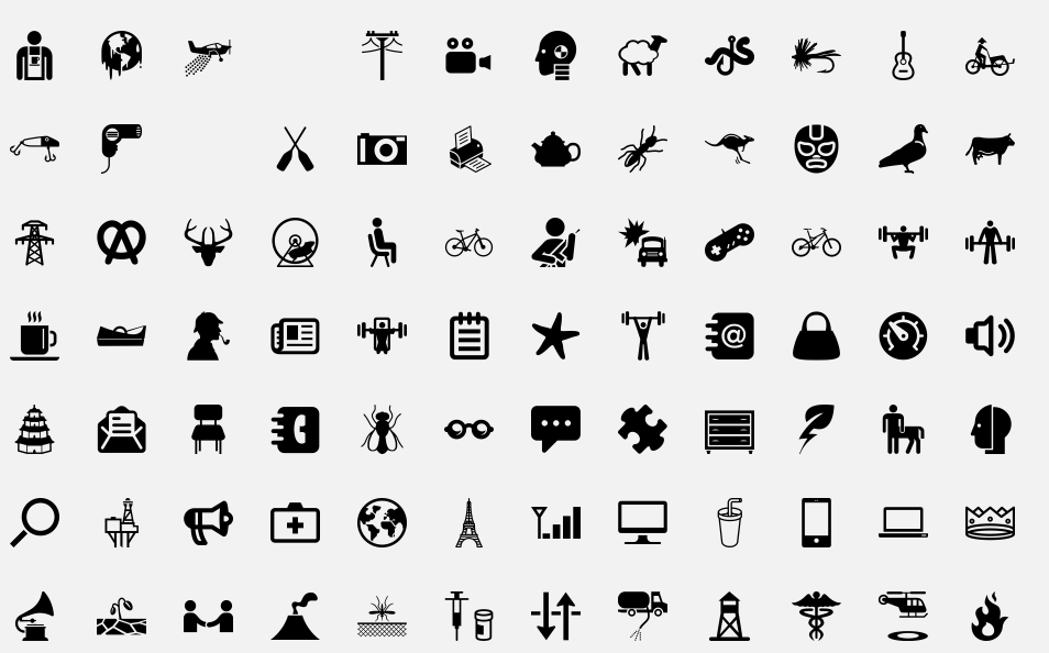 Oodles of icons The Noun Project Cuộc sống