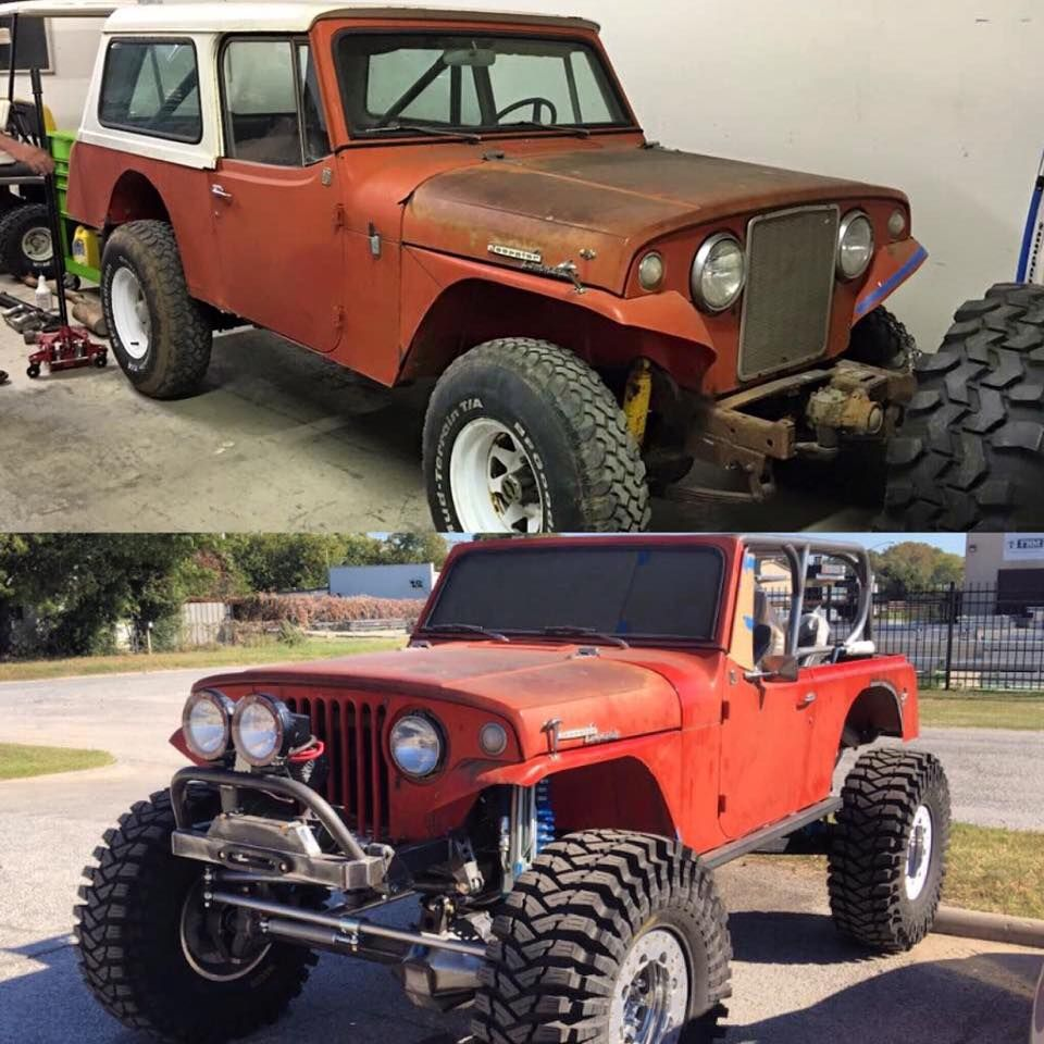 Ultra4 driver levi shirley s jeepster build courtesy of tribe