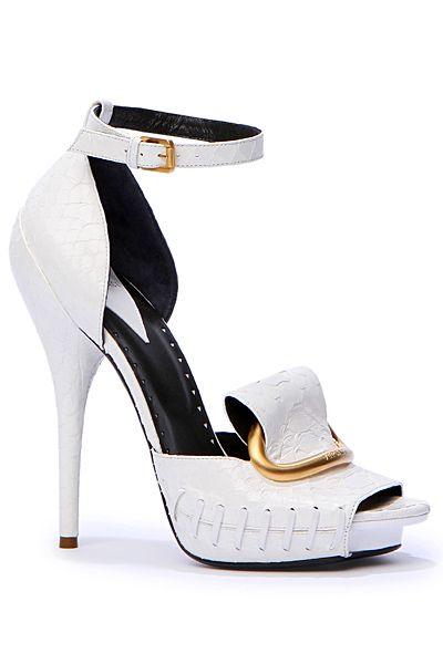 Versace.  White hot!