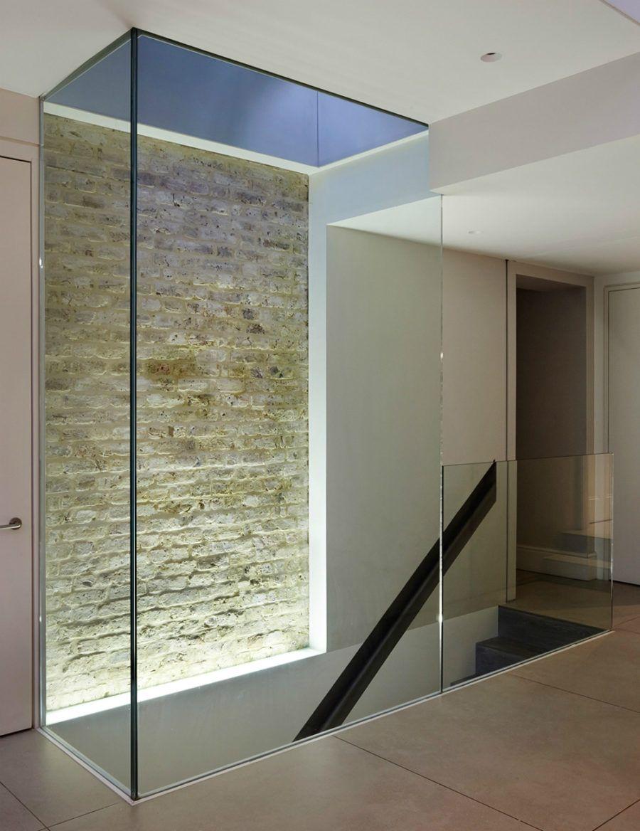 Glaswände 900x1168 Zeitgenössische Innenarchitektur Elemente, die ...