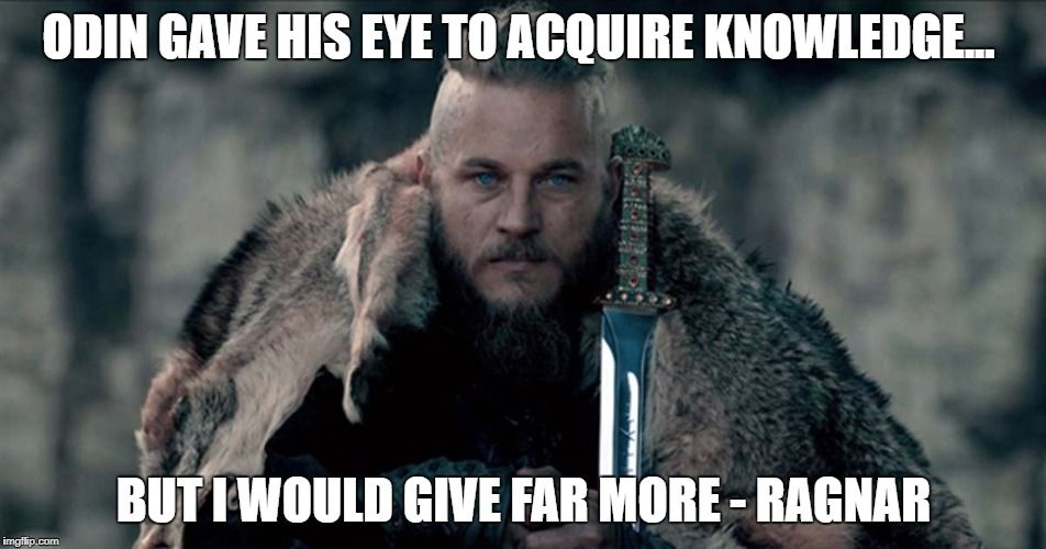 Image result for vikings quotes about odin eye