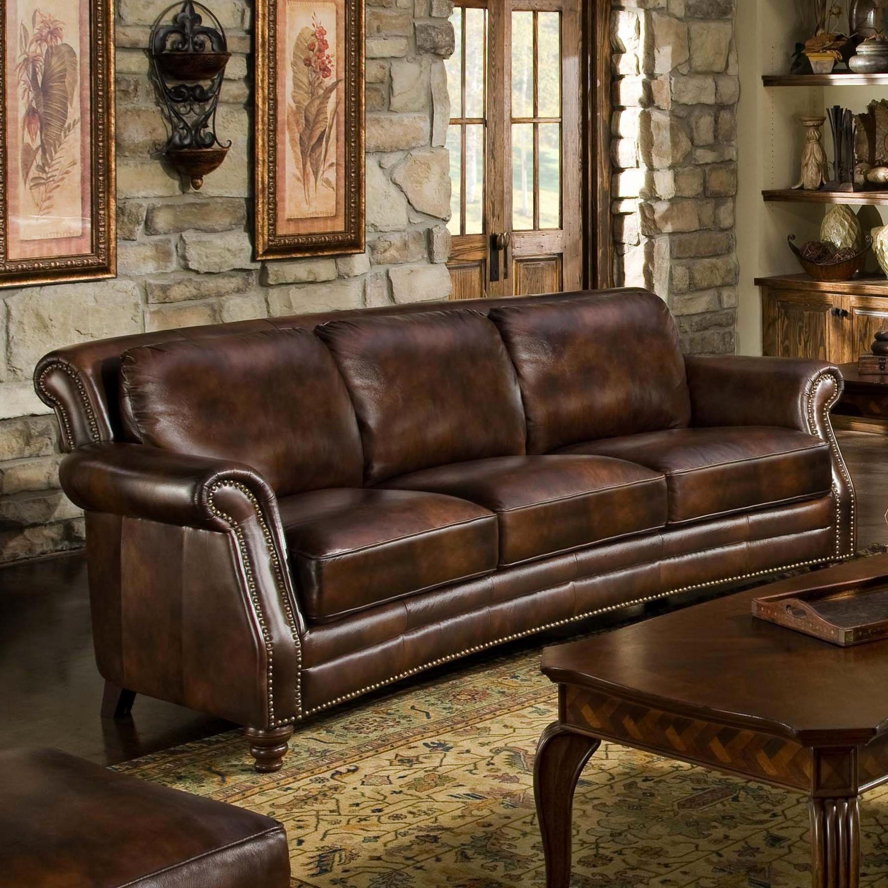 Luxury Leather Nailhead Sofa Photographs Leather Nailhead Sofa