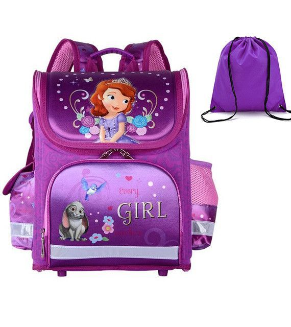 236c56f99dd4 GCWHFL Children School Bags Girls Orthopedic Butterfly Design Princess  School Backpack Kids Satchel Knapsack Mochila Infantil